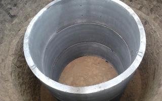 Особенности сооружения и эксплуатации выгребной ямы из бетонных колец
