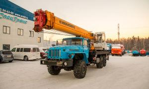 Модельный ряд автокранов Ивановец на базе шасси Урал