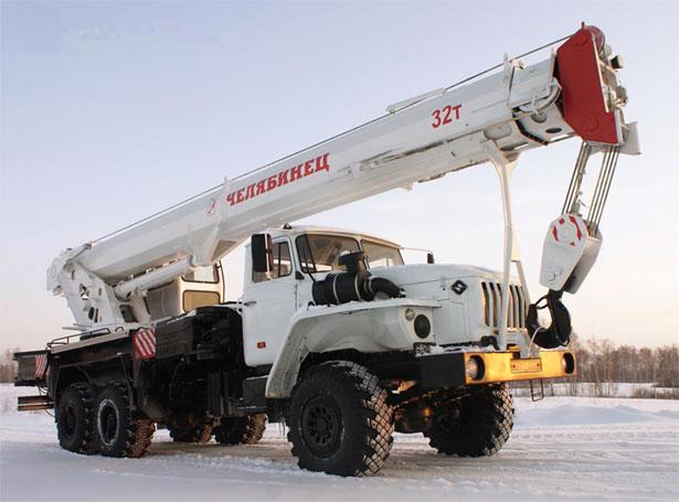 Автокран Челябинец-55732-32