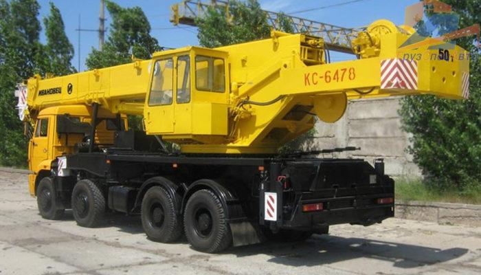 Автокран Ивановец КС-6478