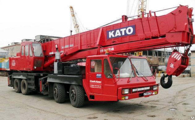Автокран КАТО на 500 тонн