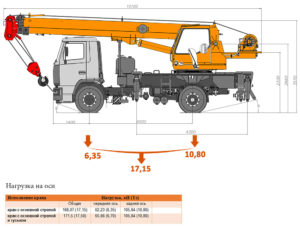 Автокран Клинцы 16 тонн КС-35719-5-02