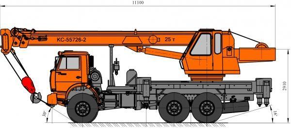 Автокран Угличмаш КС-55726-2