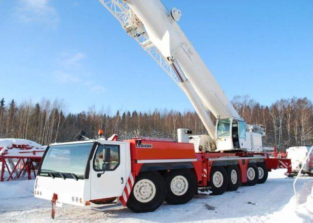 Автокран ЛИБХЕРР LTM-1250