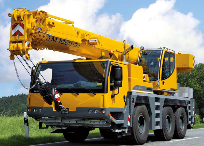 Автокран Liebherr 50 тонн