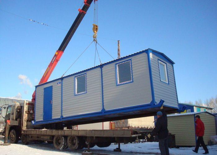 Транспортировка малых архитектурных форм манипулятором