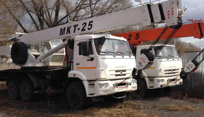 Ульяновец МКТ-25 на шасси КАМАЗ