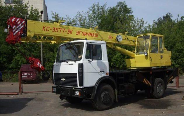 Кран КС-3577 МАЗ 4х2