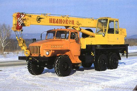 Ивановец КС-35714-2 шасси