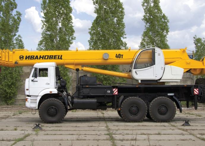 Ивановец КС-65740-3 ОВОИД на шасси КАМАЗ-65222