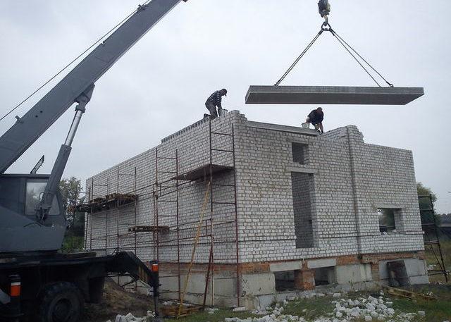 Подача стройматериалов