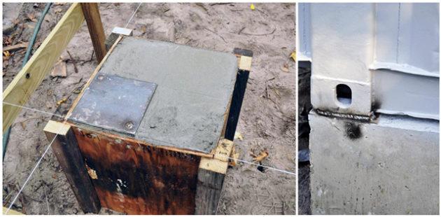 Фундамент для дома из контейнеров