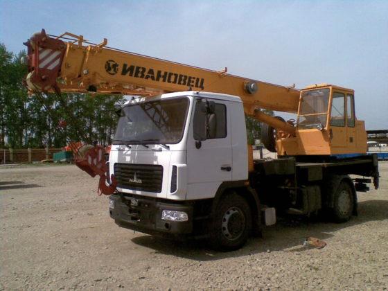 Ивановец КС-35715-10 ОВОИД на базе шасси МАЗ-5340