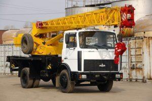 Ивановец КС-35715 на базе шасси МАЗ-5340
