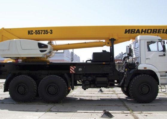 Ивановец КС-55735-3 ОВОИД на шасси КАМАЗ-65222