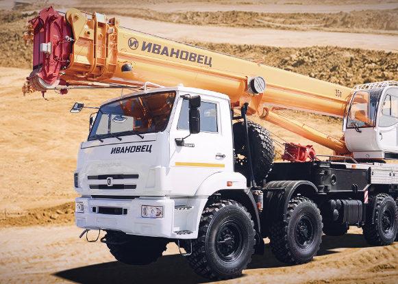 Ивановец КС-55735-7 на шасси КАМАЗ-63501