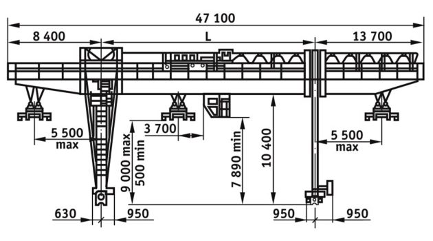 Размеры КК-20