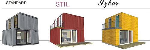 Виды проэктов домов из контейнеров