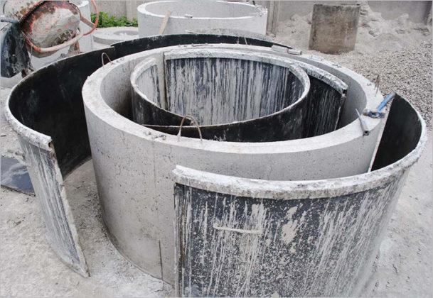 Формы для производства бетонных колец