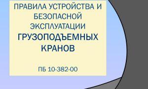 ПБ 10-382-00 – свод правил и сфера их распространения
