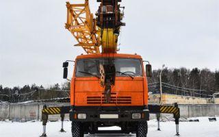 Технические параметры автокрана Ивановец КС-54711