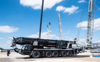 Новый кран Liebherr LTM 1230-5.1 – рекордная стрела и новые системы
