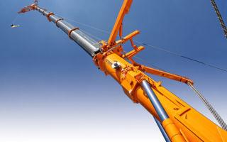 Модификации и характеристики стрелы автокрана