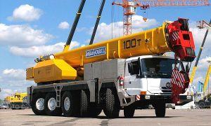 Автокран Ивановец КС-8973 100 тонн – описание и характеристики