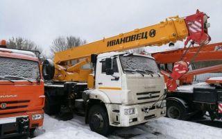 Характеристики и оснащение автокрана Ивановец КС-35714К