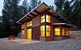 Описание и параметры расчета односкатной крыши