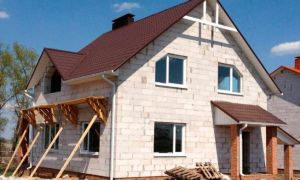 Особенности строительства домов из газобетона