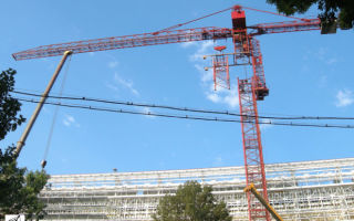 Описание конструкции и параметров башенных кранов