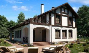 Дом в стиле шале – воплощение лучших европейских традиций