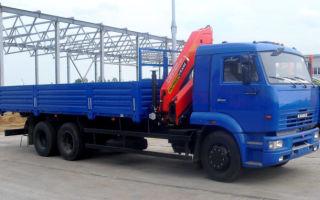 Описание и параметры автомобиля КамАЗ-65117 с КМУ
