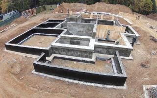 Ленточный фундамент – расчет по материалам
