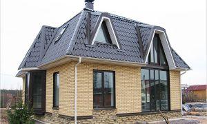 Расчет объема материалов мансардной крыши онлайн