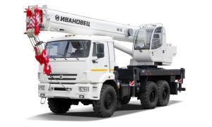 Модельный ряд автомобильных кранов Ивановец 16 тонн