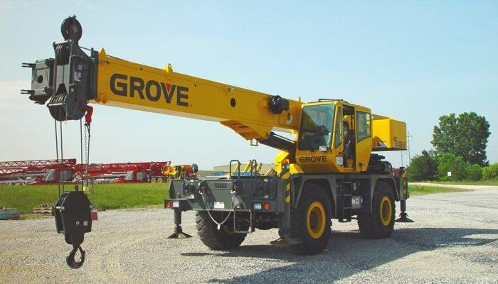 Внедорожный короткобазный кран GROVE RT 530E-2