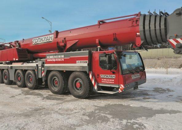 Автокран 250 тонн