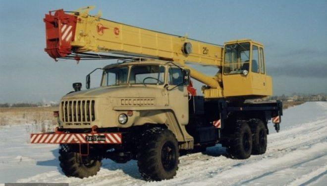 Автокран 25т КС-55712 Броварчанец