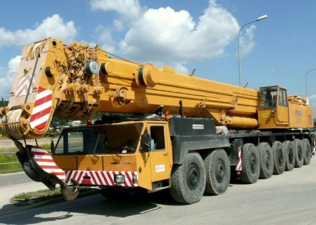 Автокран 300 тонн