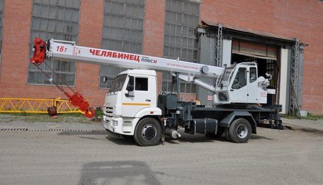 Автокран Челябинец 16 тонн