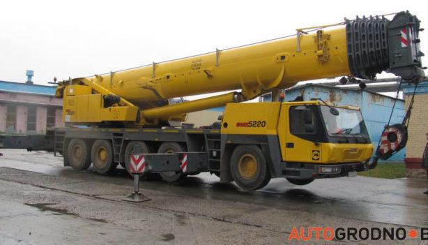 Автокран GROVE 110 тонн