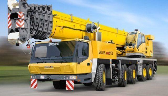 Автокран GROVE 150 тонн