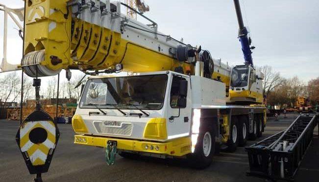 Автокран GROVE 170 тонн