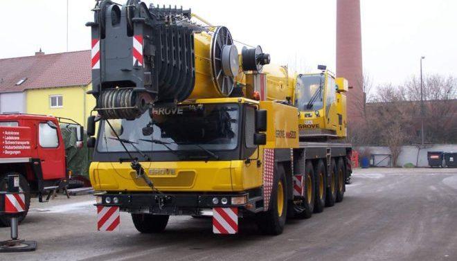 Автокран GROVE 220 тонн