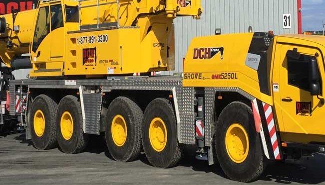 Автокран GROVE 250 тонн