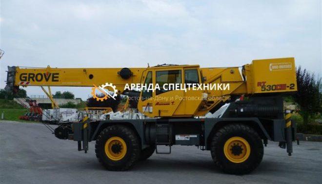 Автокран GROVE 30 тонн