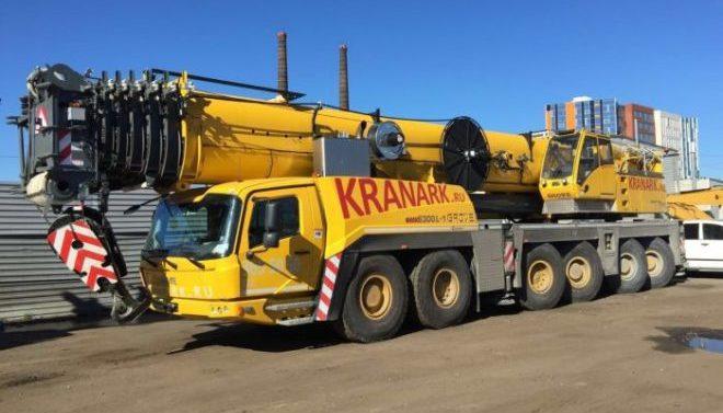 Автокран GROVE 300 тонн