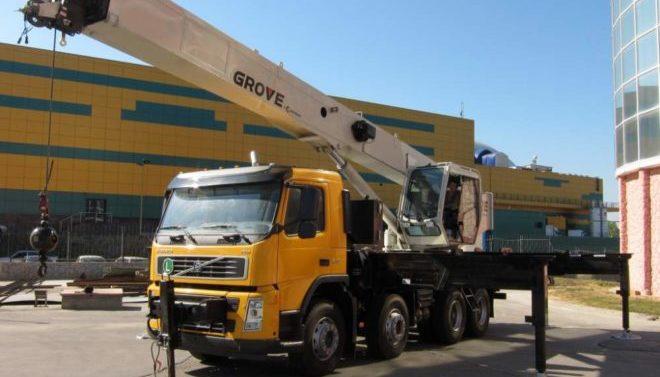 Автокран GROVE 35 тонн
